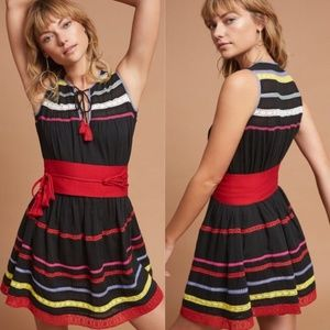 Anthro Carolina K Esmerelda Crocheted Mini Dress
